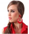 Pendientes de Flamenca Lacados