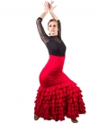 Falda De Flamenco, Modelo Sol