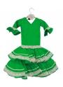 Vestido De Gitana Para Niñas, talla 0