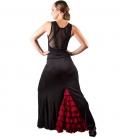 faldas flamencas cintura alta