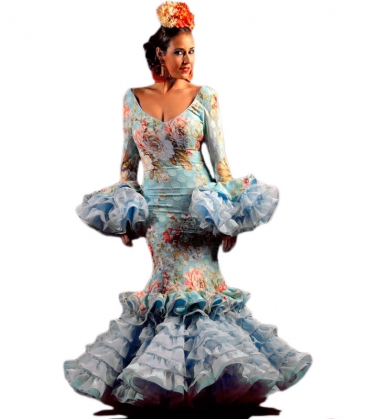 Vestido de Flamenca Alhambra 2018 - Trajes de flamenca de El Rocio b5c4927885b