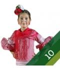 Trajes flamenca niña - Talla 10