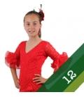 Trajes de flamenca niña - Talla 12