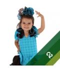 Trajes de flamenca niña - Talla 2