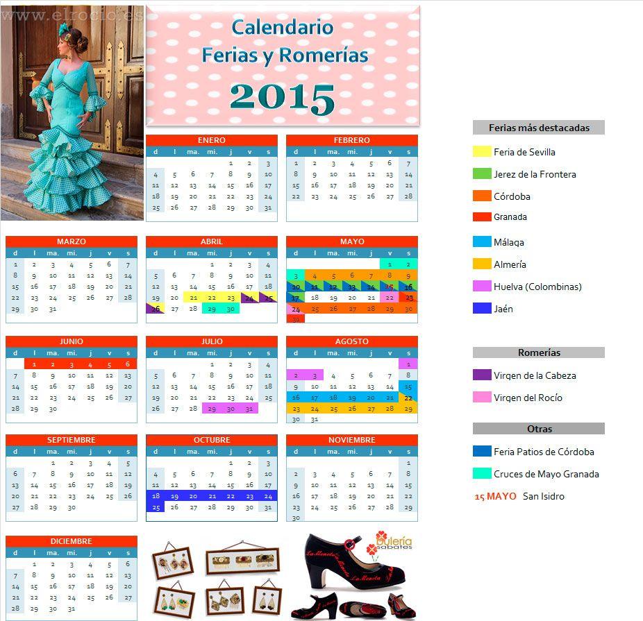 Calendario de romerias blog el rocio blog de flamenco for Calendario ferias