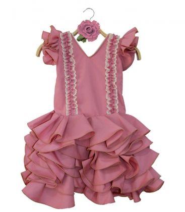 a56f0ba048 Trajes de Flamenca para Niñas. Compra Trajes de flamenca niña y Vestidos de gitana  niñas por tallas - El Rocío