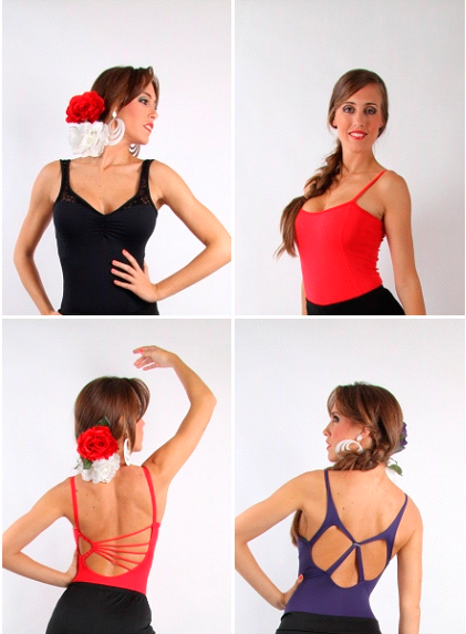 Mallas para las faldas flamencas