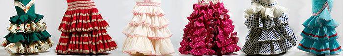 Trajes de flamenca El Rocío temporada moda flamenca 2014