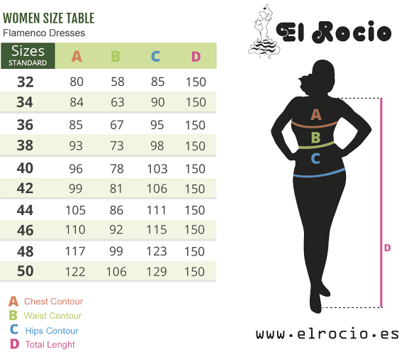 flamenco dress size roal