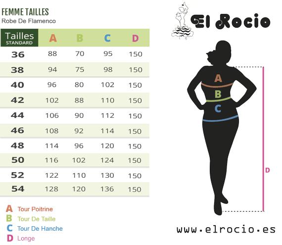 Robe flamenco pour femme, Taille 46 5fdf398367d