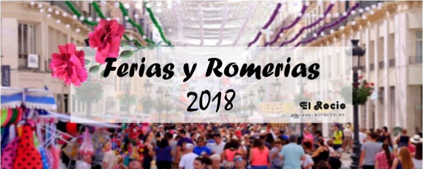 Ferias y romerías del 2018
